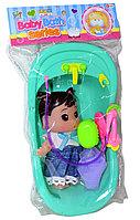 669-399 Кукла ванночка Baby Bath 34*18см