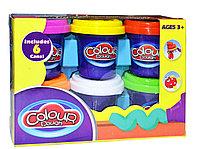 9202 Набор пластилина 6 в 1 colour Dough 18*13см