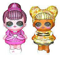 Сквиши куклы LOL ЛОЛ 5 видов 12шт в уп цена за 1шт 12*7см