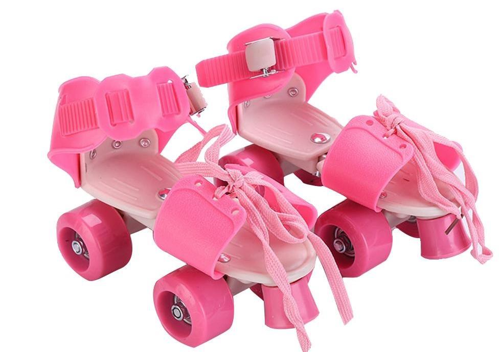 Ролики на обувь раздвижные