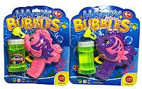 668-A Рыбка мыльные пузыри пистолет ручной (механ.) 21*18см Happy Bubles