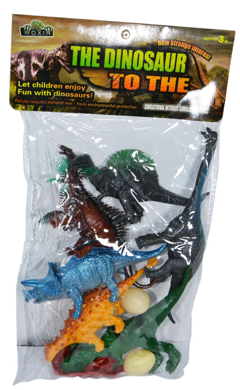 0916 Динозавры 10 аксесс. 34*20см