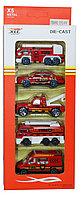 1210-N14 Набор пожарных машин 5шт 27*11см