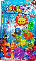 555-228 Рыбалка 2 удочки и морские животные Fishing Funny Game 53*32см