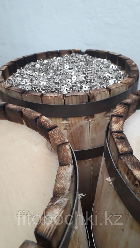 Деревянная декоративная бочка без отделки, 30 л