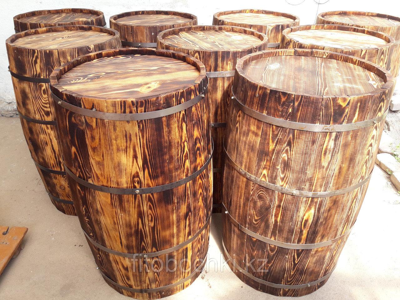 Деревянная декоративная бочка 1000*600*700*600*17 мм