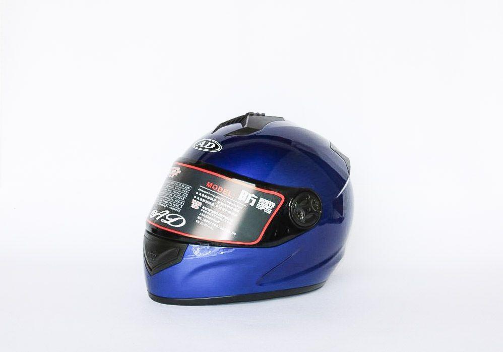 Мото шлем Blue