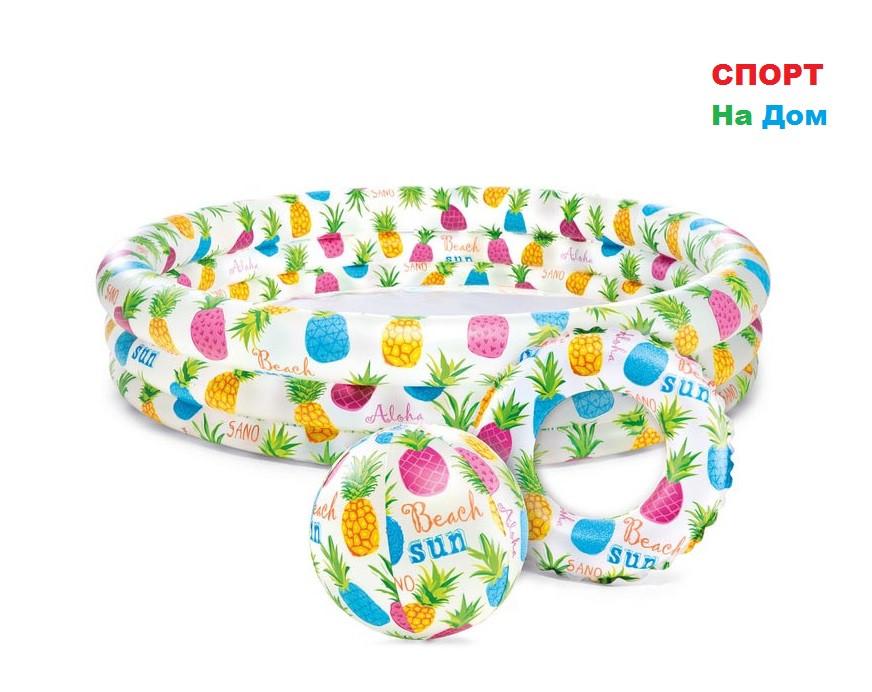 Детский надувной бассейн Intex 59469 (132 х 28 см на 220 литра)