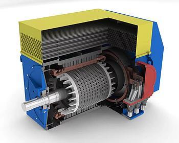 Ремонт высоковольтных электродвигателей.