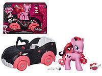 Набор Пинки Пай на автомобиле MY LITTLE PONY HASBRO, фото 1