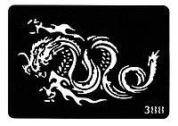 Трафарет для тату № 388