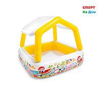 Надувной детский бассейн Intex 57470 (Габариты: 157 х 157 х 122 см, на 280 литров)