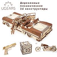 Механические 3d конструкторы UGEARS оптом. НОВИНКА широкий ассортимент, лучшие цены!.