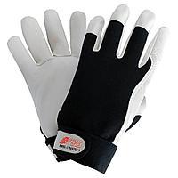 Перчатки кожаные комбинированные DEXTER 1 NITRAS