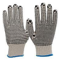 Перчатки трикотажные с точками NITRAS