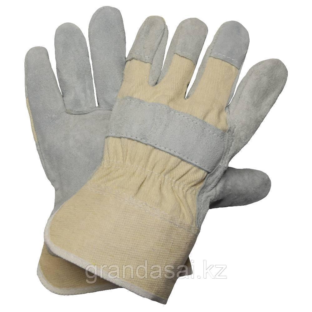 Спилковые перчатки NITRAS