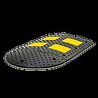 Лежачий полицейский ИДН 500 - 2  концевой элемент Для оргнизации стоянок, фото 2