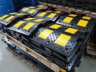 Лежачий полицейский ИДН 500 - 2  концевой элемент Для оргнизации стоянок, фото 3