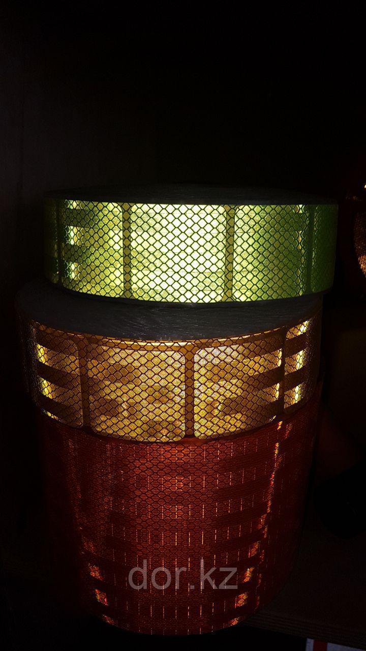 Светоотражающая лента сегментированная для ограждения опасностей