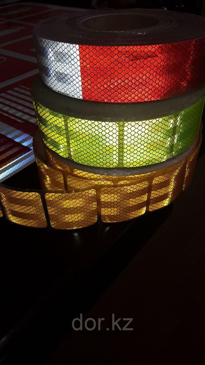 Светоотражающая лента сегментированная для ограждения опасностей - фото 3