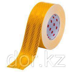 Светоотражающая лента желтая 3М для ограждения опасностей