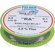 Solder  1.5mm 100g  FELDER   SN95.5AG3.8CU0.7  MASSIV припой