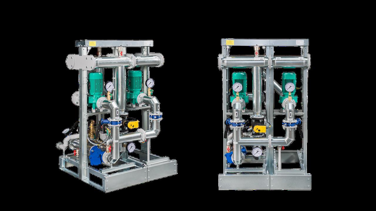 M-8. Узел оборудования контура отопления Подача тепла в систему отопления