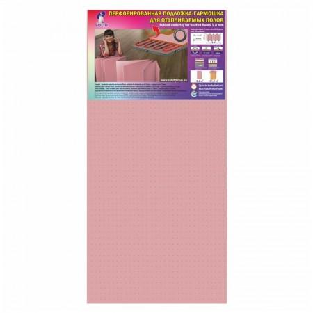 Подложка Солид, Розовая гармошка, 1,8 мм