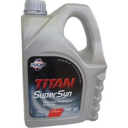 Моторное масло TITAN SUPERSYN SAE 5W-40 4L