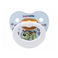 Baby-Nova Пустышка латексная  (размер 1)  (мягкая упаковка)