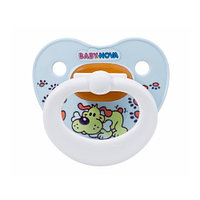 Baby-Nova Пустышка латексная  (размер 2)  (мягкая упаковка)