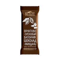 Батончик фруктово-шоколадный BIO elite Шоколад-миндаль 35г*24шт