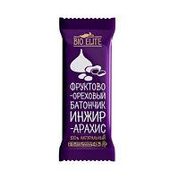 Батончик фруктово-шоколадный BIO elite Инжир-арахис 35г*24шт