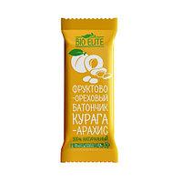 Батончик фруктово-шоколадный BIO elite Курага-арахис 35г*24шт