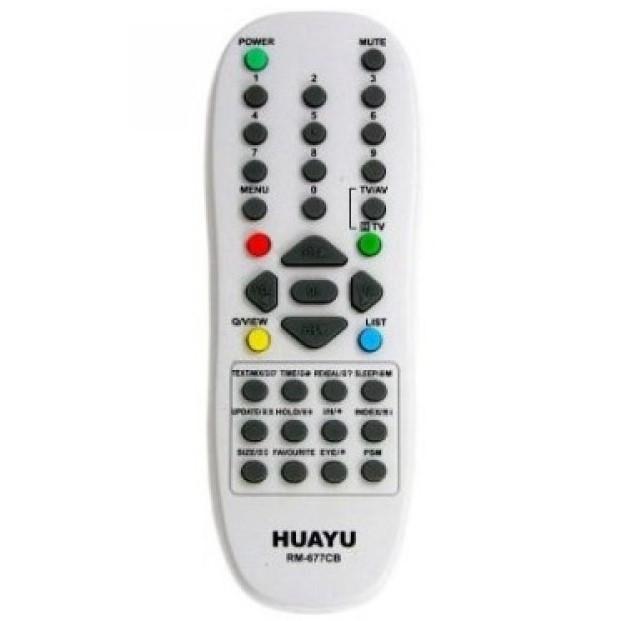 Универсальный пульт ДУ для телевизоров LG HUAYU RM-677CB (черный)