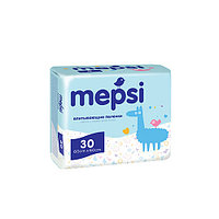 Пеленки детские Mepsi впитывающие 60х60, 30 шт