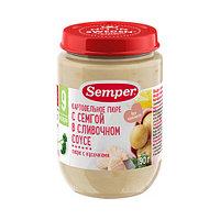 Пюре детское Semper Картофельное пюре с семгой в сливочном соусе, 190 г
