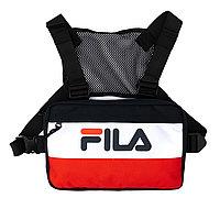 Сумка поясная Fila Adult Bag Navy Red LA016414-410
