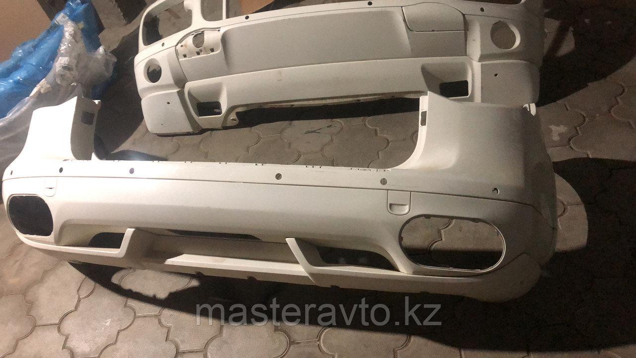 Бампер задний Porsche Cayenne turbo 957  Б/У