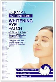 [DERMAL] Патчи (маски) для глаз ОТБЕЛИВАНИЕ Whitening Eye Patch, 6 гр