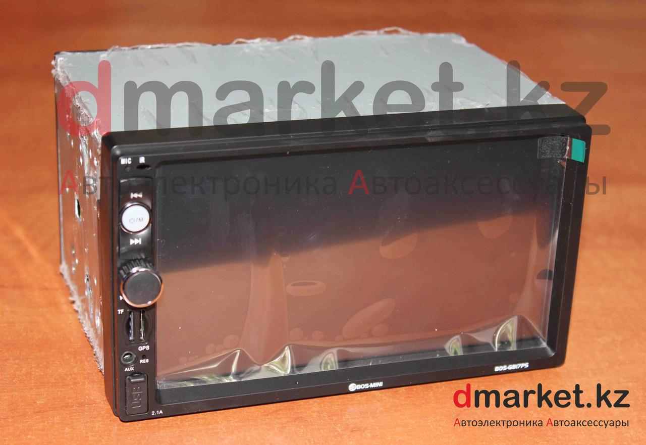 Автомагнитола Bos-Mini G817P5, 2DIN, 7 дюймов, GPS, AUX, MP3, Bluetooth