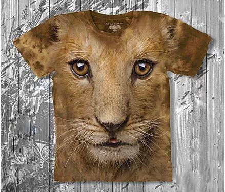 Детская футболка «Львёнок» в Алматы