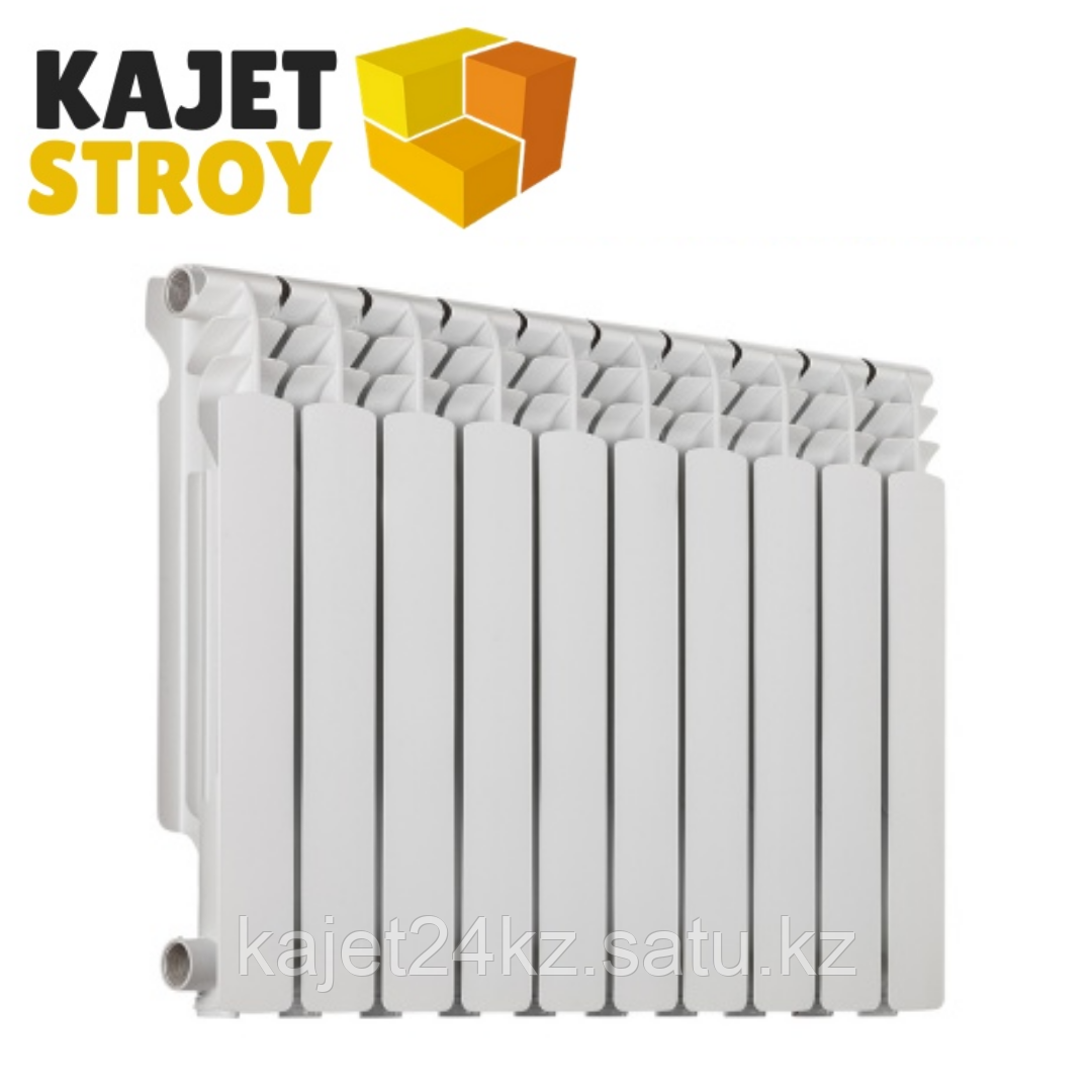 Радиатор алюминиевый АЛЮРАД 500/100 (10секций)