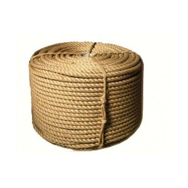 Веревка-джутовая Д-20 мм 100м