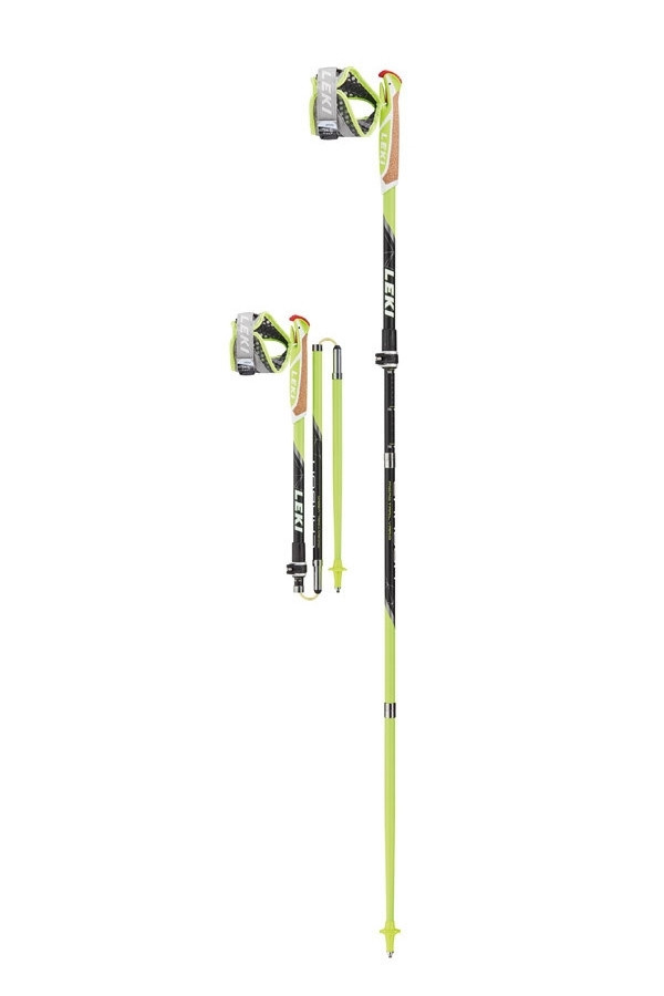 Карбоновые палки LEKI Micro Trail Vario 110-130 см