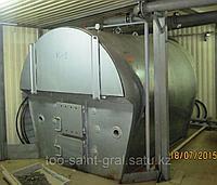 КТГ-400 (ТАН) Котёл на твёрдом топливе, водогрейный горизонтальный стальной