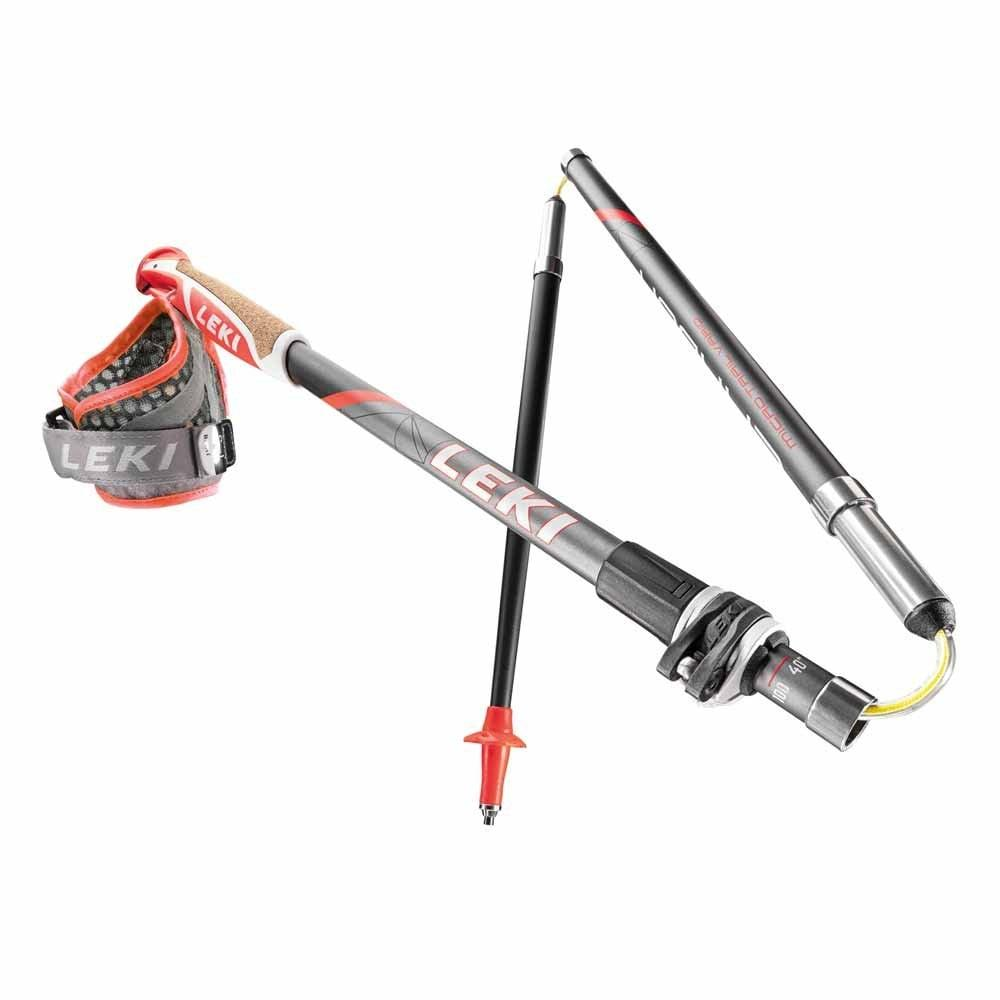 Карбоновые палки для скайранинга LEKI Micro Trail Vario 100-120  (Германия)
