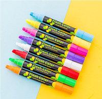 Флуоресцентные маркеры для LED доски, набор 8 шт.  Flashcolor, фото 1