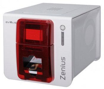 Принтер пластиковых карт Evolis Zenius Expert ZN1H0000RS