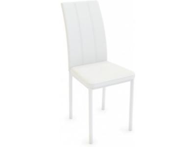 ЛАЙН стул ( белый/белый, эко кожа )